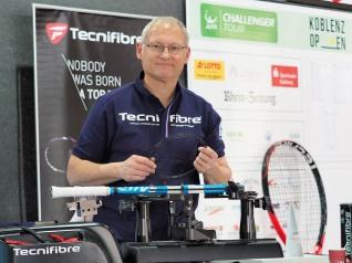 Tecnifibre Besaitungsteam Koblenz Open 2019
