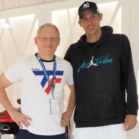 Mit Alexei Popyrin (AU) in Doha